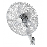 "ATLAS 16"" CHROME WALL FAN"