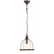 AVERY ANTIQUE BRASS ONE LIGHT PENDANT