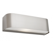 UP DOWN CURVE WALL LIGHT BRUSHED CHROME