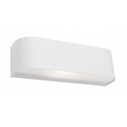 UP DOWN CURVE WALL LIGHT WHITE