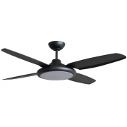 BERET MOULDED ABS 132CM TITANIUM INCL 24W LED CCT STEP DIM LIGHT HIGH AIR MOVEMENT CEILING FAN