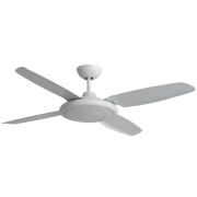 BERET MOULDED ABS 132CM WHITE HIGH AIR MOVEMENT CEILING FAN
