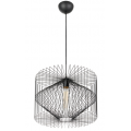 BLACK WIRE PRISM PENDANT LIGHT