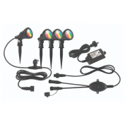 BOTANIC SMART WIFI RGB 4 PACK GARDEN LIGHT KIT