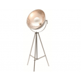 CODA FLOOR LAMP WHITE & SILVER