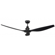 CONCORDE II DC 147CM THREE ABS PLASTIC BLADES BLACK CEILING FAN