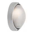 SMALL OVAL ALUMINIUM EXTERIOR BUNKER LIGHT