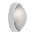 SMALL OVAL WHITE EXTERIOR BUNKER LIGHT