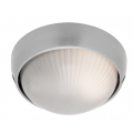 SMALL ROUND ALUMINIUM EXTERIOR BUNKER LIGHT