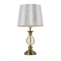 PROVINCIAL ANTIQUE BRASS TABLE LAMP
