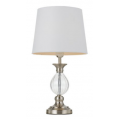 PROVINCIAL BRUSHED CHROME TABLE LAMP