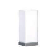 CUBE TOUCH LAMP BRUSHED CHROME