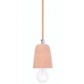 CURVED CORK SUSPENSION PENDANT