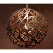 BRONZE 50CM CONTEMPORARY SPHERE PENDANT