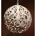 WHITE 50CM CONTEMPORARY SPHERE PENDANT