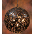 BLACK 50CM CONTEMPORARY SPHERE PENDANT