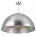 SILVER LEAF DOME CHANDELIER SIX LIGHT