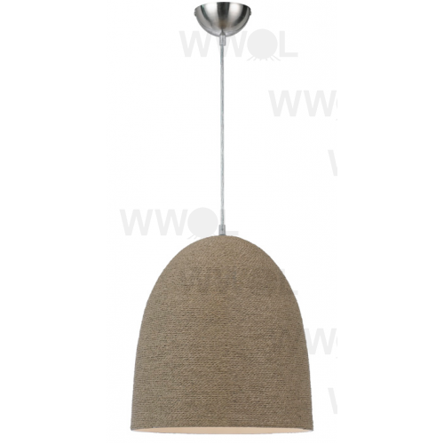 DRIFTWOOD-PAPER TWINE CONE SMALL 1 LIGHT