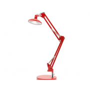 DALTON RED LED DESK LAMP