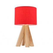 DARCY TABLE LAMP RED