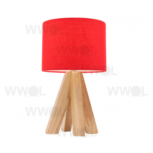 Darcy table lamp red aloadofball Choice Image