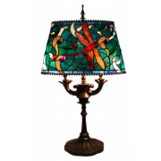 DRAGONFLY OVAL 16 INCH TABLE LAMP