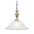 COTTAGE CLASSIC ONE LIGHT ANTIQUE BRASS PENDANT