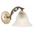 COTTAGE CLASSIC ONE LIGHT ANTIQUE BRASS WALL LIGHT