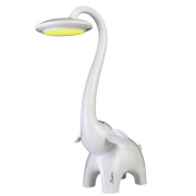 ELEPHANT WHITE LED DESK LAMP