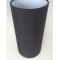 MASON AND FINCH SLIM DRUM BLACK LAMP SHADE 125(T) X 125(B) X 250(H)