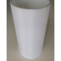 MASON AND FINCH SLIM DRUM WHITE LAMP SHADE 200(T) X 200(B) X 325(H)