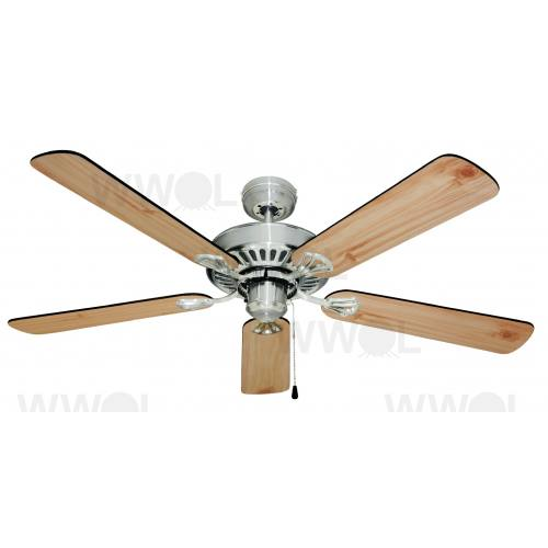 HAYMAN 130CM 5 BLADE CLASSIC FAN BRUSHED CHROME