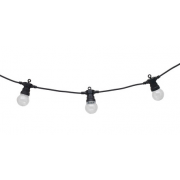 MARQUEE BLACK FESTOON 10 METRE VINTAGE STRING LIGHTS