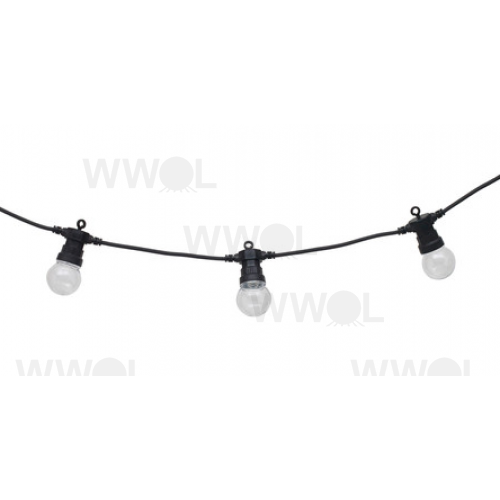 MARQUEE BLACK FESTOON 20 METRE VINTAGE STRING LIGHTS
