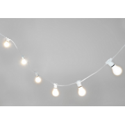 MARQUEE WHITE FESTOON 10 METRE VINTAGE STRING LIGHTS