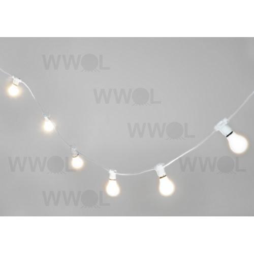 Marquee White Festoon 20 Metre Vintage String Lights