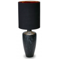BLACK MARBLE PATTERN 80cm TABLE LAMP