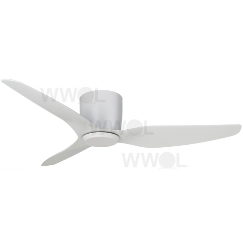 FLUSH HUGGER ABS PLASTIC 127CM WHITE CEILING FAN