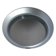 GYRO II 250MM ROUND SILVER EXHAUST FAN