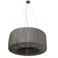HALO 60CM GREY DRUM PENDANT