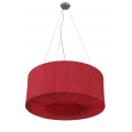 HALO 90CM RED DRUM PENDANT