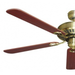 HAYMAN 130CM 5 BLADE CLASSIC CEILING FAN ANTIQUE BRASS