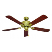 HAYMAN 130CM 5 BLADE CLASSIC FAN POLISHED BRASS