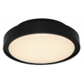 EXTERNAL LED SMALL OYSTER LIGHT BLACK