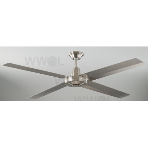 Hurricane 130cm 304 stainless 4 blade ceiling fan mozeypictures Gallery