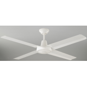 HURRICANE 120CM WHITE 4 BLADE CEILING FAN