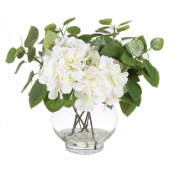 Hydrangea Bundle Arrangement White