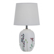 LEAF CERAMIC WHITE TABLE LAMP
