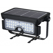 5 WATT 500 LUMEN LED SOLAR SENSOR EXTERIOR FLOOD LIGHT POLYCARBONATE