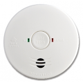 LIFESAVER SMOKE ALARM HARD WIRED RECHARGEABLE BATTERY BACK UP
